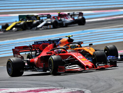 Vettel 'enjoyed' early battle against McLaren