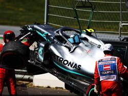 Bottas crasht tijdens Grand Prix van Duitsland