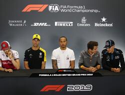 Schema persconferenties voor de Grand Prix van Hongarije 2019
