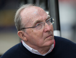 Hamilton takes Frank Williams for a hot lap