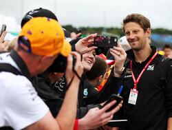 """Grosjean: """"Niet pijnlijk om te zien dat oude specificatie Haas sneller was op Silverstone"""""""