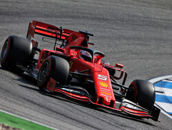 FP1: Vettel leads Ferrari 1-2 at Hockenheim