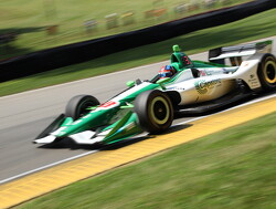 FP2: Herta fastest as Newgarden crashes out