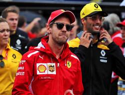 'Sebastian Vettel heeft een aanbieding van Renault op zak'