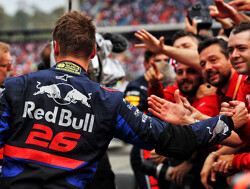 Honda: Kvyat's podium a reward for Toro Rosso
