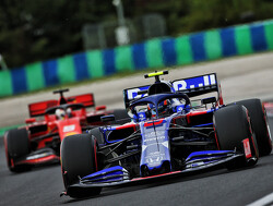 Albon schrijft Toro Rosso af tijdens tweede vrije training in Hongarije