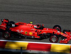 FP3: Leclerc fastest, Hamilton crashes out