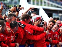 Belgian GP: Leclerc takes maiden win ahead of Hamilton