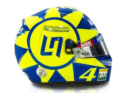 Norris to run Rossi-styled helmet at Monza