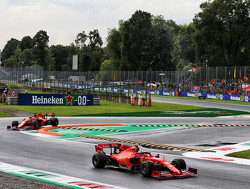 Vettel unhappy with Ferrari's strategy for Q3 at Monza