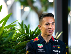 Albon: Red Bull hasn't set specific targets to reach