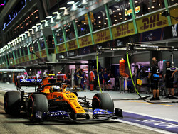 Norris happy with Singapore result after 'stressful' final 10 laps