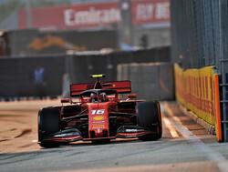 Qualifying Leclerc beats Hamilton, Vettel to pole in Singapore