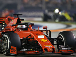Singapore GP: Vettel ends win-less streak, leads Ferrari 1-2