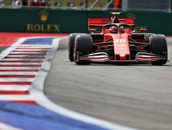 FP1: Leclerc narrowly heads Verstappen in Sochi