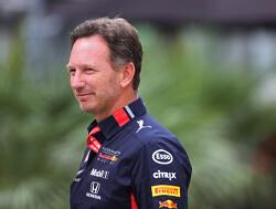 """Horner: """"Partymodus Mercedes lijkt door Ferrari nu meer op een theekransje"""""""