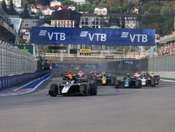 Big crash in Formula 2 Sprint Race
