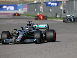 Russian GP: Hamilton wins in Sochi as Vettel retires