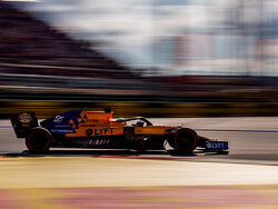 Sainz found it 'fun' to battle leaders on opening lap