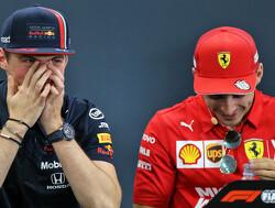 Verstappen en Leclerc kunnen lach niet inhouden na vraag Walter Koster