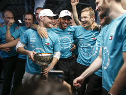 Bottas 'proud' to be part of Mercedes history