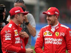 """Vettel: """"Prestaties Leclerc in kwalificaties moeten gewaardeerd worden"""""""