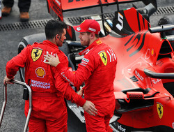 Vettel defends Ferrari's strategy after Mercedes win