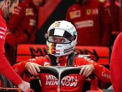 """Sebastian Vettel: """"Een honderdste van een seconde laat je altijd wel ergens liggen"""""""