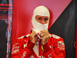 Achterwielophanging Sebastian Vettel geeft plotseling de geest