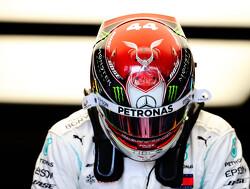 Lewis Hamilton in Brazilië wederom eenmalig met speciale helm aan de start