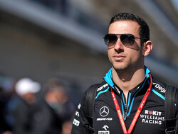 Latifi in Kubica's car for FP1 in Brazil