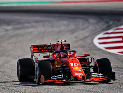 Charles Leclerc pakt snelste ronde op Circuit of the Americas