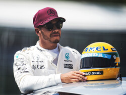 Hamilton reminds Berger of F1 legend Senna