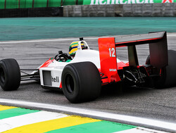 1988 McLaren MP4/4 returns to the Interlagos circuit