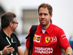 """Sebastian Vettel: """"Verdenkingen stoppen als Ferrari in Brazilië wint"""""""