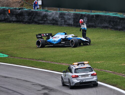 Kubica: Disposed water from Haas car caused FP2 crash