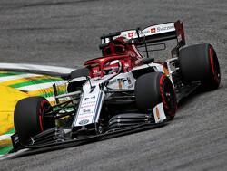 """Kimi Raikkonen blij met P4: """"Wel beetje teleurgesteld dat ik Sainz niet voorbij kon"""""""