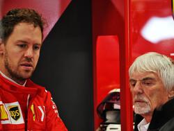 """Ecclestone: """"F1 achter betaalmuur in Duitsland komt door Vettel"""""""
