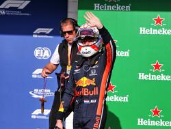 De pole position-ronde van Max Verstappen in Brazilië