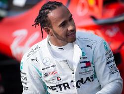 """Lewis Hamilton over geruchten: """"Ik zit al bij mijn droomteam"""""""