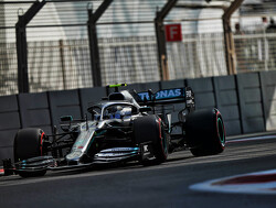 FP1: Bottas 0.5s ahead, Vettel hits the wall
