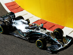 Hamilton 'exploring' in Abu Dhabi by pushing the car 'in a different place'