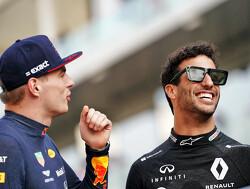 """Ricciardo: """"Ondanks alles kan ik nog goed opschieten met Max Verstappen"""""""