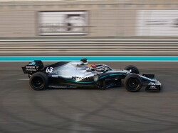 Russell completes 18-inch tyre testing in Abu Dhabi for Pirelli