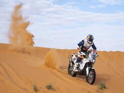 Barreda pakt eerste etappezege bij motoren, Brabec breidt voorsprong uit