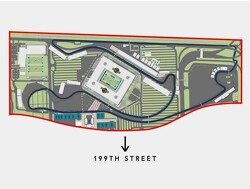 A lap of the new proposed F1 Miami GP track