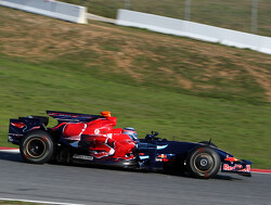 When Sato tested with Toro Rosso in a bid for a 2009 seat