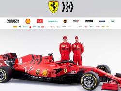 Ferrari launches its 2020 F1 car