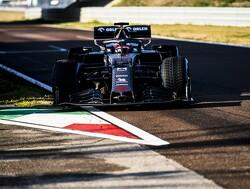 Kimi Raikkonen rijdt eerste meters met Alfa Romeo C39