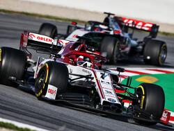 Testdag 2: Raikkonen snelste in Barcelona, Albon met 134 ronden naar P4
